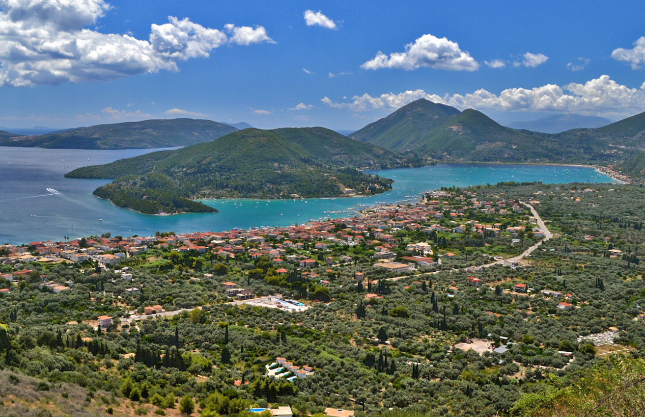 Lefkada's Geography